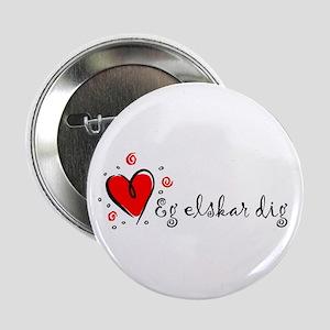 """""""I Love You"""" [Danish] Button"""